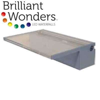 Brilliant Wonders™ Color-Changing PVC Waterfall Weirs