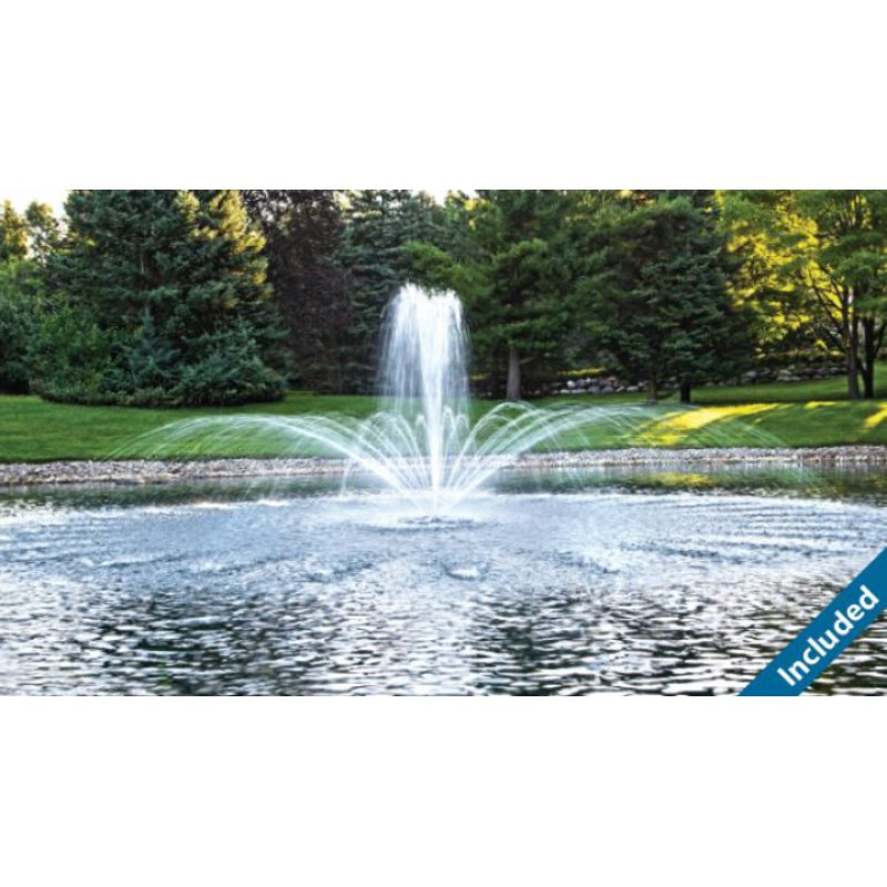Ecoseries Floating Fountain By Airmax