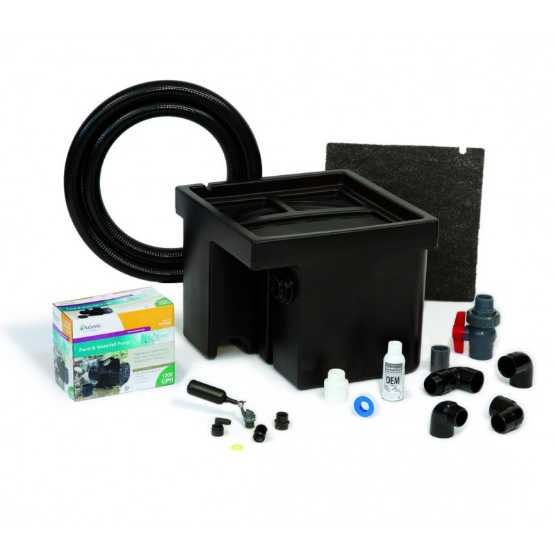 basin kits for colorfalls weirs and formal pondfree waterfall features. Black Bedroom Furniture Sets. Home Design Ideas