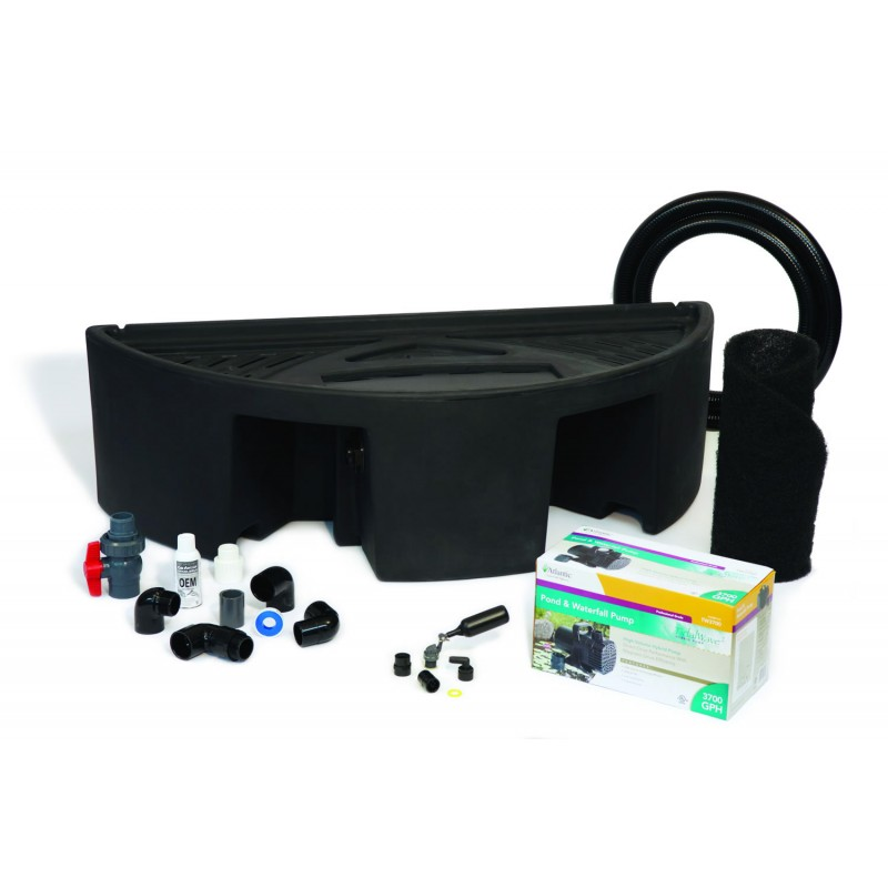 basin kits for colorfalls weirs and formal pondfree. Black Bedroom Furniture Sets. Home Design Ideas