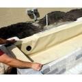 Flexible Basins for Ponds & Decorative Block Wall Reservoirs
