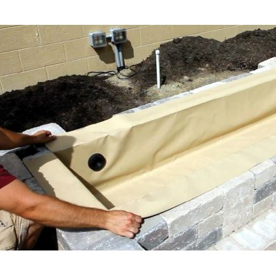Flexible Basins for Ponds & Decorative Block Wall Reservoirs