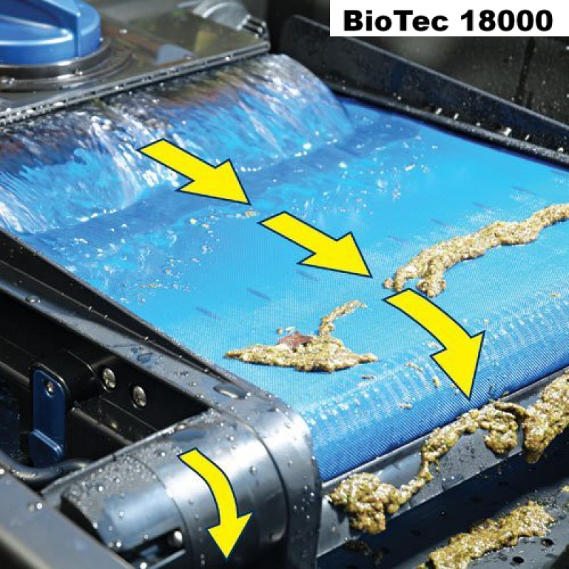 Biotec screenmatic 18000 biosmart 10000 gravity filters for Biological pond filter