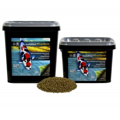 Wheat Germ™ cold climate  fish food for koi and pond fish by CrystalClear®