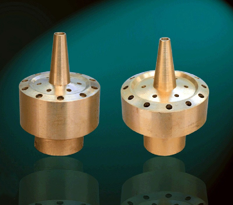 Blossom 3 Tier Brass Fountain Nozzle