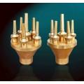 Lotus™ Brass Fountain Nozzles