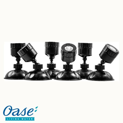 LunaLED™ Pond Mini Lighting Kit by OASE® - 6 Light Kit
