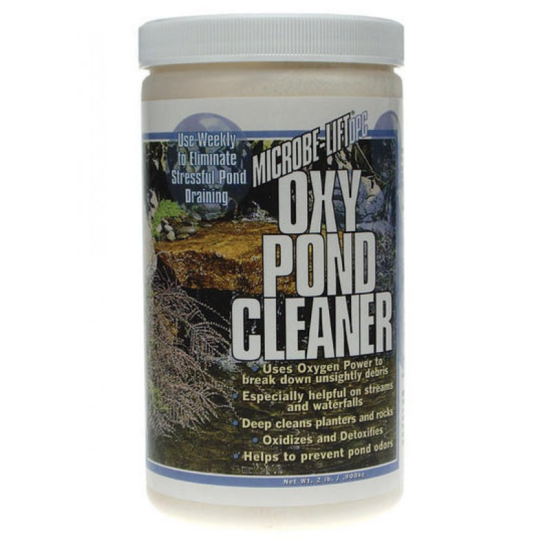 Oxypond waterfall pond cleaner by microbe lift for Pond cleaner
