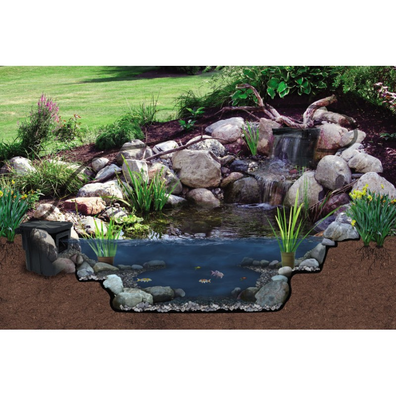 Savio pond kits for Fish pond materials