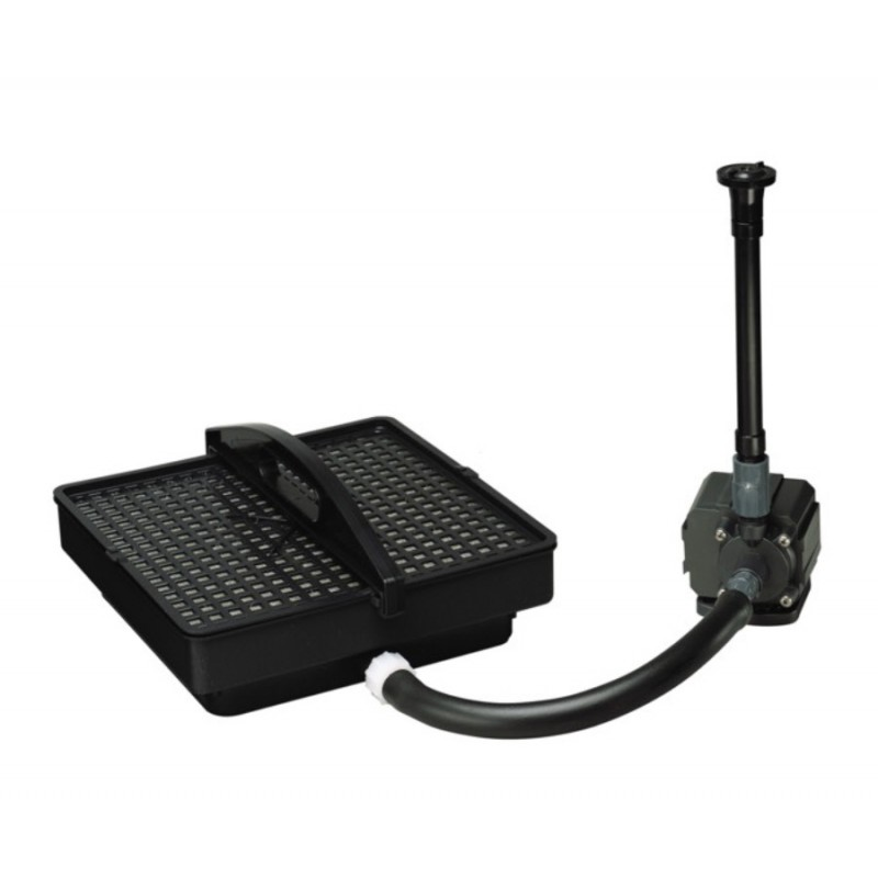 Pondmaster pond pumps with filter system for small ponds for Small pond filter system