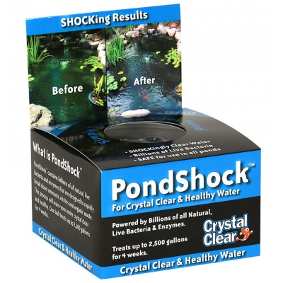 Pondshock™ concentrated bacteria balls by CrystalClear®