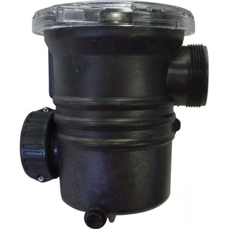 Leaf strainer pump leaf trap primer basket for external for Pond filter basket