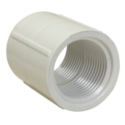 PVC Coupler - FPT x FPT