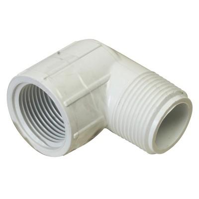 PVC Elbow 90° - MPT x FPT