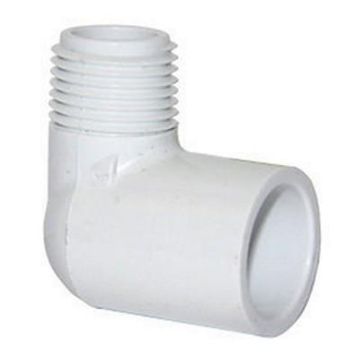 PVC Elbow 90° - MPT x S