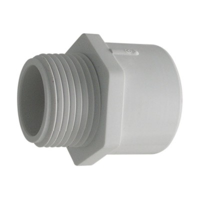 PVC Male Adaptor - SLIP x MPT