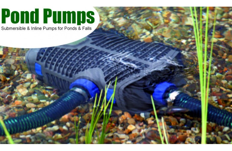 pond pumps canada