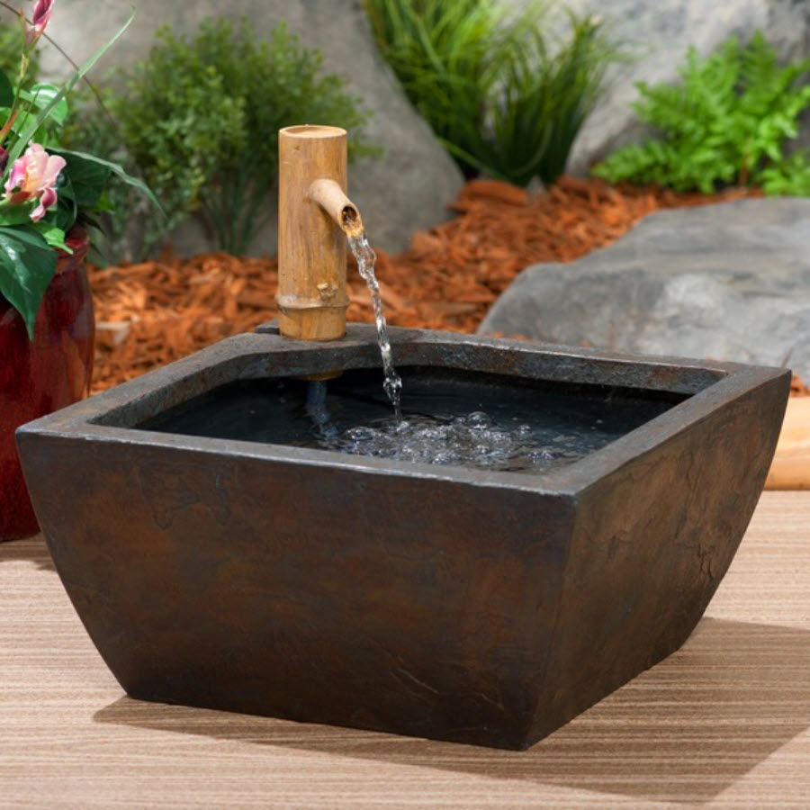Container pond for patio balcony by aquascape for Container ponds with fish