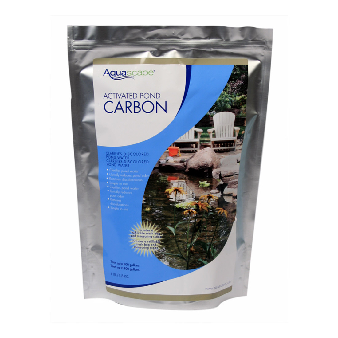 Activated pond carbon by aquascape for Pond carbon filter