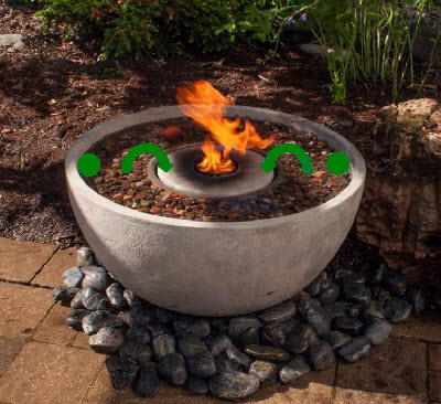 Fire Fountain by Aquascape – TJB-INC Online Store