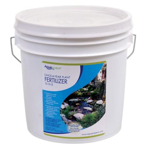 Once a year fertilizer by aquascape for Fish pond fertilization