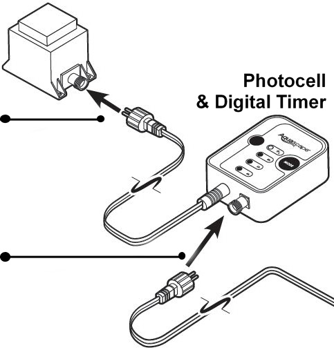 Photocell Amp Timer For 12 Volt Pond Lights From Aquascape 174