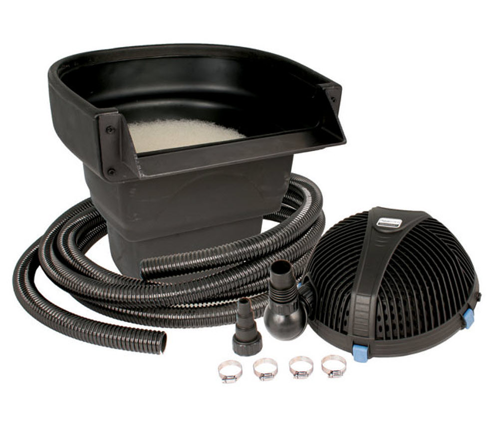 Ultraklean filtration kits with pump by aquascape these for Pond kits supplies