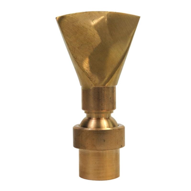 Hose Spray Nozzle >> Fan Jet™ Brass Fountain Nozzle
