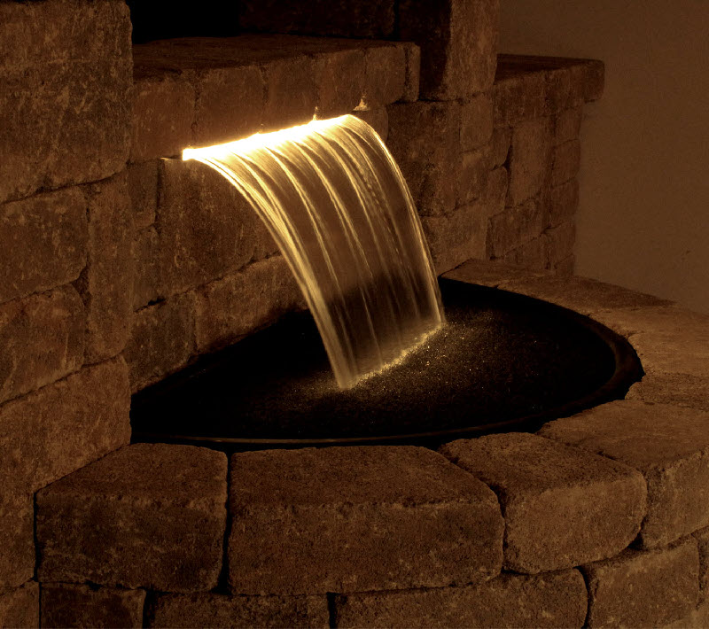 Classic Colorfalls Lighted Waterfall Weirs Amp Kits