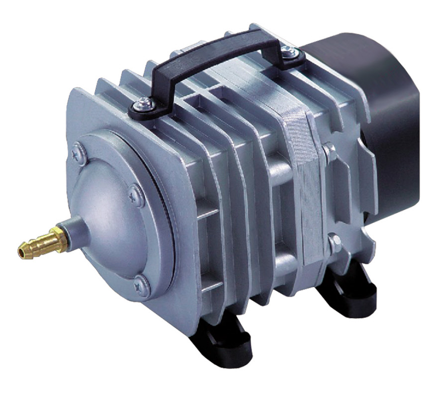 Commercial air pumps by ecoplus for Garden pond air pumps