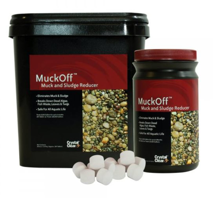 Muck off™ sludge reducing pellets for ponds by crystal clear