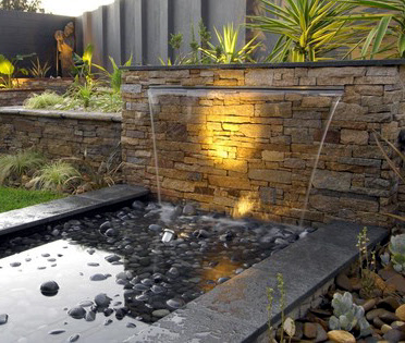 Stainless Steel Waterfall Weirs