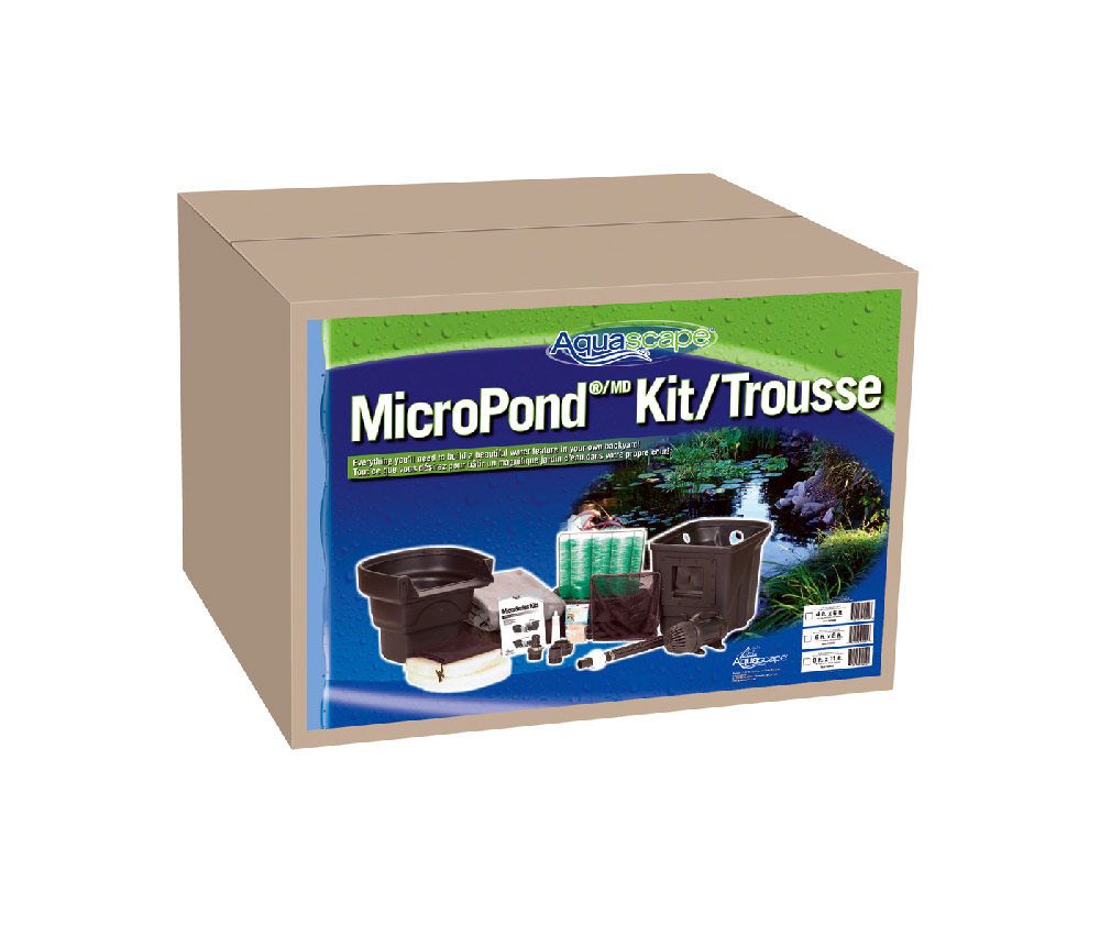 Micropond kits from aquascape for Pond kits supplies