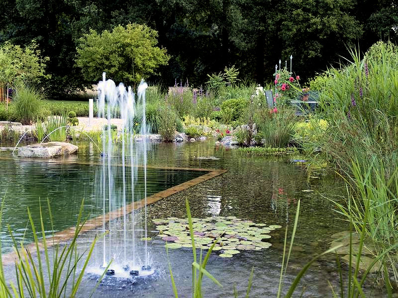 Water Quintet Fountain By Oase