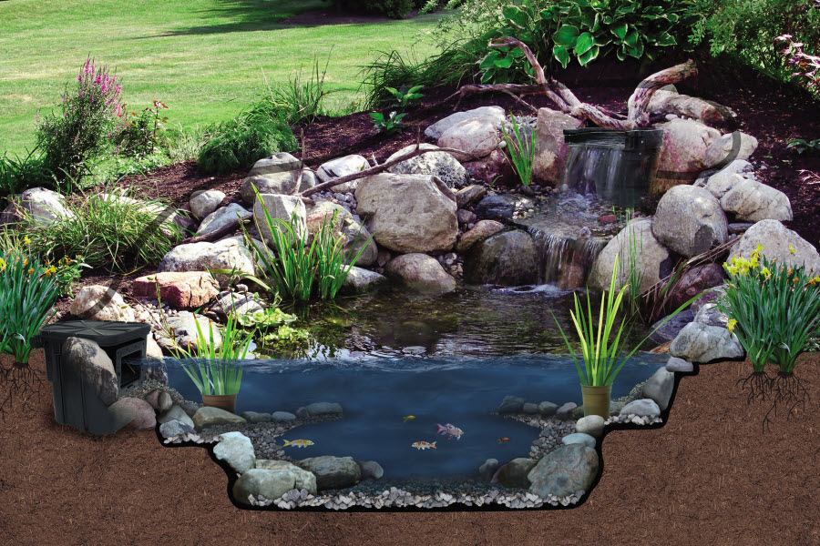 Oasis Complete Small Pond Kit By Atlantic