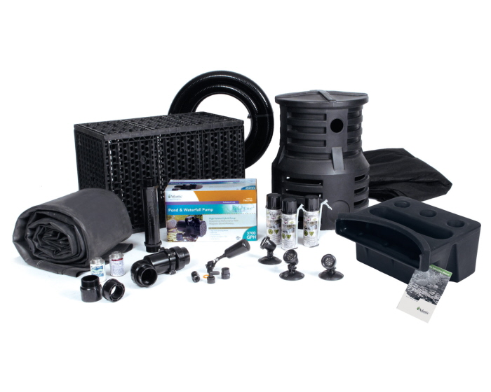 Large pond free waterfall kit from atlantic for Pond equipment supplies